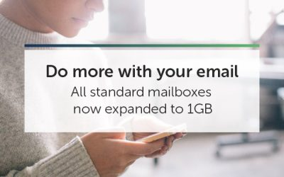 Mailbox Size Increase