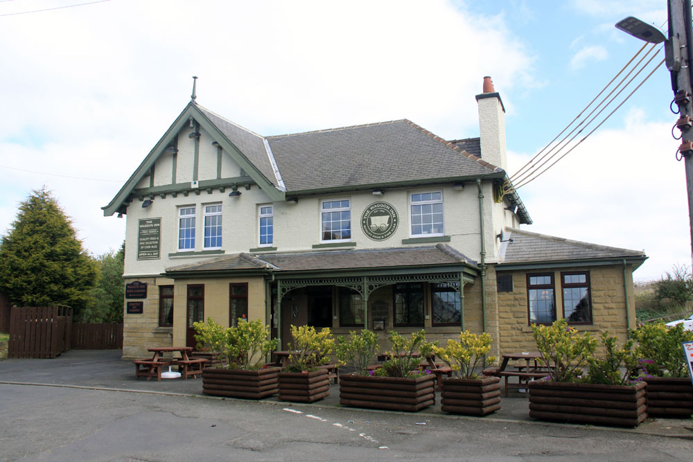 Exterior Front View of the Waggon Inn