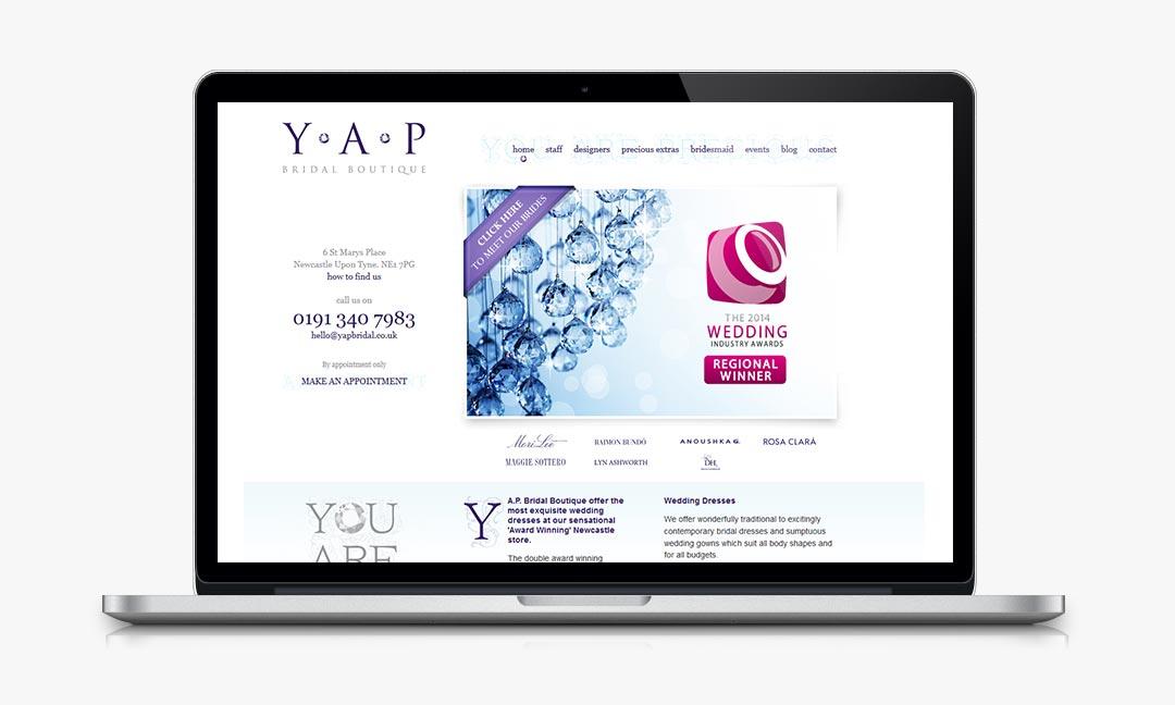 The Y.A.P. website